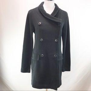 Cabi Black Peacoat Cotton Stretch Jacket Small